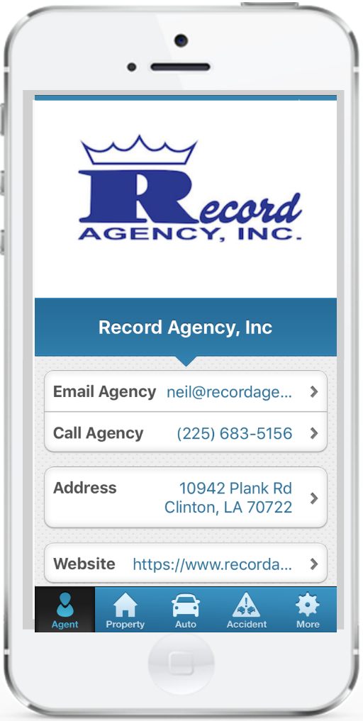 Record Agency single phone